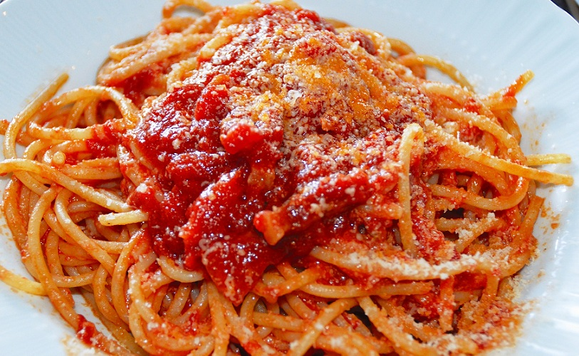sagra spaghetti all'amatriciana